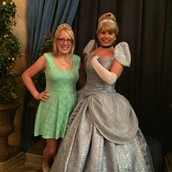 Cinderella and I!