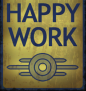 """Hard work is happy work!"""