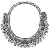 Palladian Statement Necklace