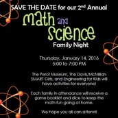 Math & Science Night