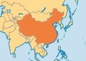 Size of China's Area