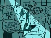 """Observatorio Contra el Acoso Callejero (OCAC) no sólo como los piropos. Va desde silbidos, ruidos, alusiones sexuales al cuerpo de la mujer y toqueteo, hasta acercamiento intimidante, seguimiento, """"punteos"""", exhibicionismo y masturbación pública."""