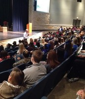 Students hear about the dangers of Distracted Driving!
