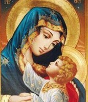 Our Blessed Mother with Jesus