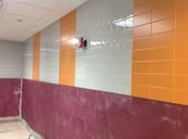 Rockcreek School Colors in the Tilework!