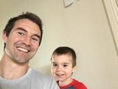 Ryan and Edward at home!