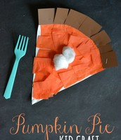 Pumpkin Pie Craft