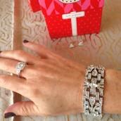 Casablanca Bracelet & Deco Ring