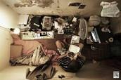 Family living hardships
