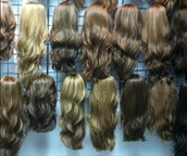 Pre-cut wigs at closeout prices!
