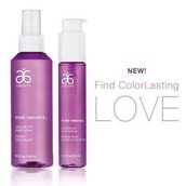 Color lasting love: hair serum and alcohol free hair spray