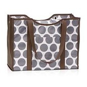 All Day Organizing Tote in Grey Mod Dot