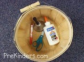 Rhyming Basket Activity