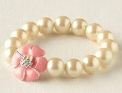 Kristen Pearl Bracelet--Little Girls Line