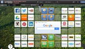 Symbaloo for Research Topics