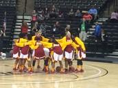 Team Huddle in Winston Salem