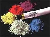 Different colours of phosphorus