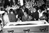 MLK At His Funeral