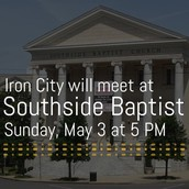 ICC Meeting at Southside Baptist this week only!