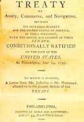 Jay's Treaty (pg. 219-222, 226)