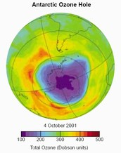 A Reduction of Ozone Depletion