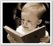 Leo un libro.