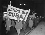 """""""Hands Off Cuba!"""""""