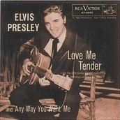 Love me Tender #2 song hit