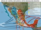 Different Cartels & Their Routes