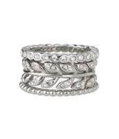 Laurel Stackable Rings