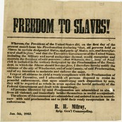 """Freedom to Slaves"""