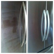 Stainless steel and granite