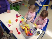 Oh how we still love our playdoh!