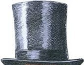 The famous high top-hat