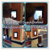 First school to put iPad OPAC Stations up-No log in required