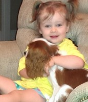 Member Candids: Gracie Brookins with our new Rescue pup Izzy