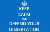 Dissertation Defense