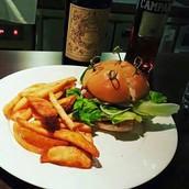 美式經典漢堡