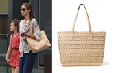 The Avalon tote- worn by Christy Turlington