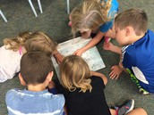 Looking at different maps!