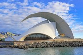 Santiago Calatrava - Santa Cruz de Tenerife, Canary Islands