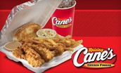 Rosettes Fundraiser @ Raising Cane's  TONIGHT