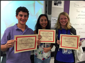 3rd Period Prowess Awards 1st Six Weeks