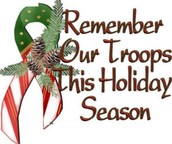 This time of year and always, please remember that our troops need your prayers and support!