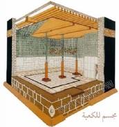 Interior of Ka'aba