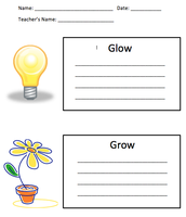 Glow and Grow Observations