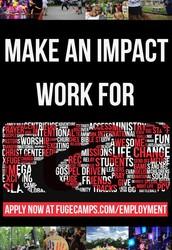 Summer Employment Opp...at FUGE!!