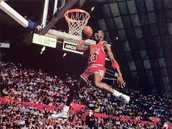Michael Jordan has hops.