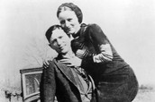 Who were Bonnie and Clyde?