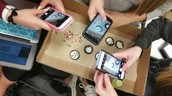 Mitosis using cookies & cell phones